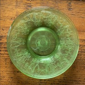 Depression Glass Dessert Plates